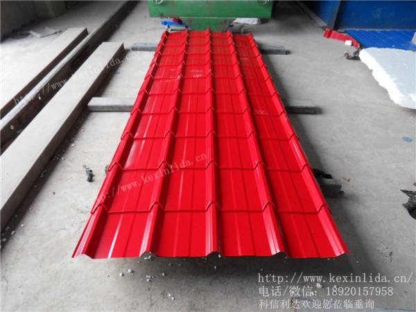 彩色压型板 彩钢压型单板 天津市科信利达彩钢钢结构