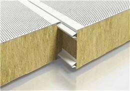 便宜玻镁岩棉净化板