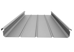 【生产加工】 铝镁锰板 高铁站65-400直立锁边金属屋面系统