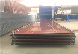 【厂家制作】 3004铝镁锰板 65-430型直立锁边铝镁锰屋面板