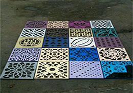 【源头厂家】安徽冲孔板 不锈钢爬架网 装饰美化冲孔网