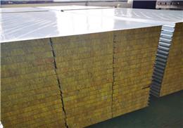 净化板 科信达净化板 彩钢机制岩棉夹芯板